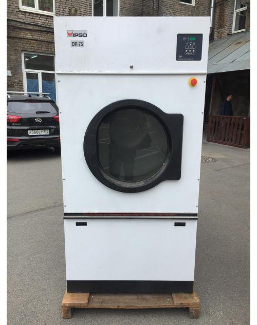 Сушильная машина Ipso DR75 Загрузка 34 кг. 2003 (Новая) г. Электронагрев (без реверса)